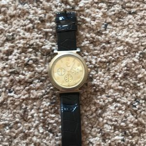 Charming Charlie gold watch